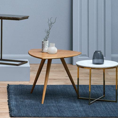 Temple & Webster Oscar Oak Side Table