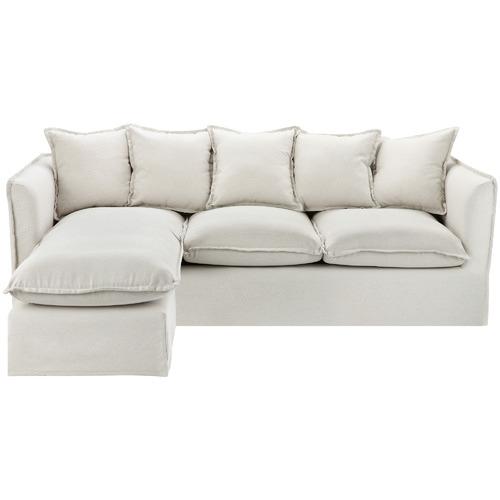 Beige Vaucluse 3 Seater Modular Sofa