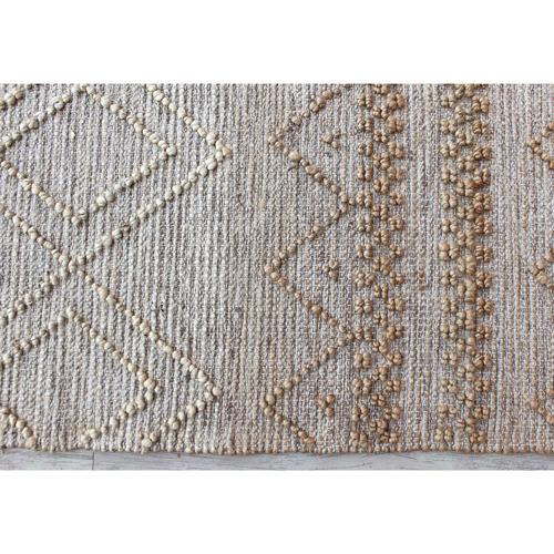Temple & Webster Natural Adler Hand-Woven Jute-Blend Rug