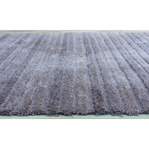 Temple & Webster Grey Reese Table-Tufted Shag Rug