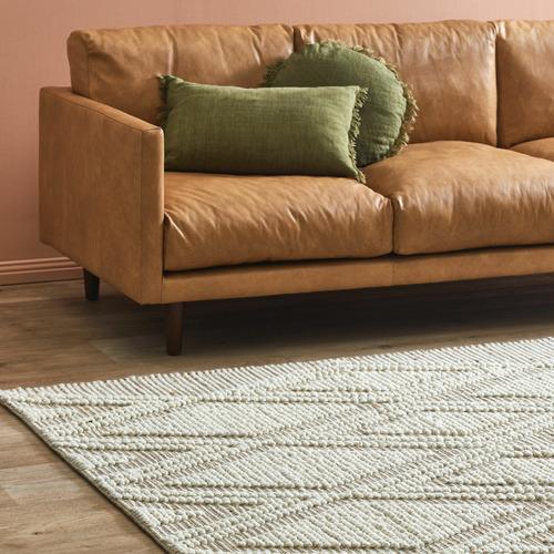 Sol Hand-Woven Hemp & Wool Rug