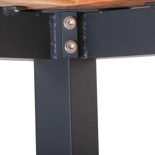 4 Seater Manado Teak & Aluminium Outdoor Dining Set