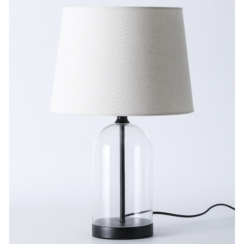 Temple & Webster Grace Glass Table Lamp