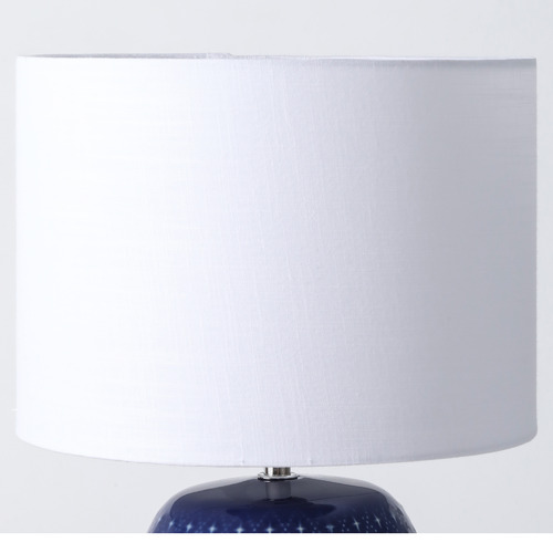 Temple & Webster Sapphire Ceramic Table Lamp