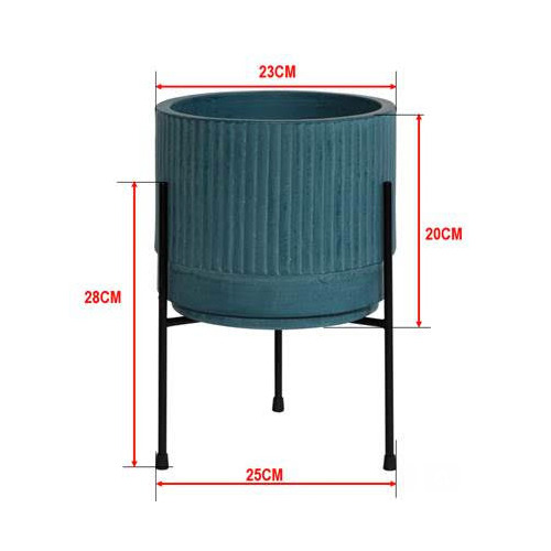 35cm Bloom Plant Pot on Stand