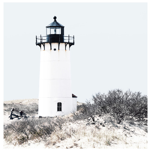 Temple & Webster Lighthouse Dune Canvas Wall Art