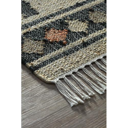 Sahara Hand-Woven Hemp Rug