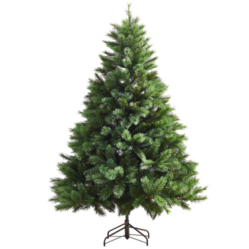 Temple & Webster Charming Frosted Spruce Christmas Tree