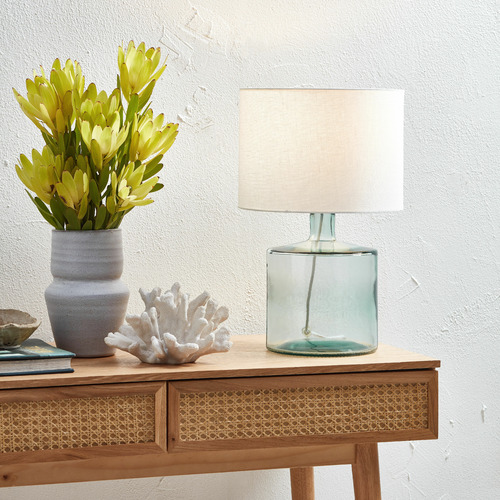 Temple & Webster Hamilton Glass Table Lamp