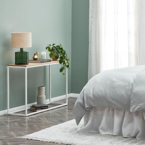 Green Hamilton Glass Table Lamp