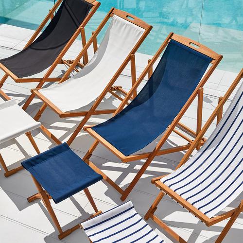 Belize Wooden Outdoor Deck Chair