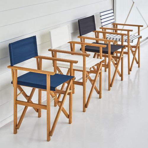Belize Wooden Outdoor Director's Chairs