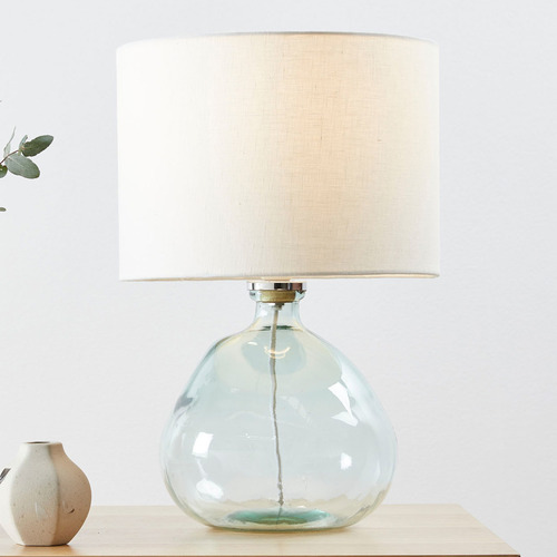 Temple & Webster Valencia Glass Table Lamp