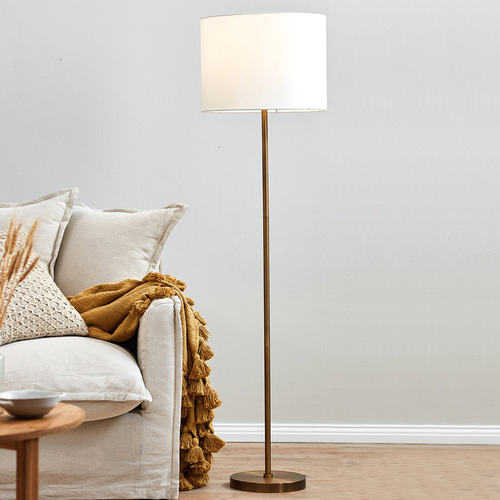 Temple & Webster Gilt Floor Lamp