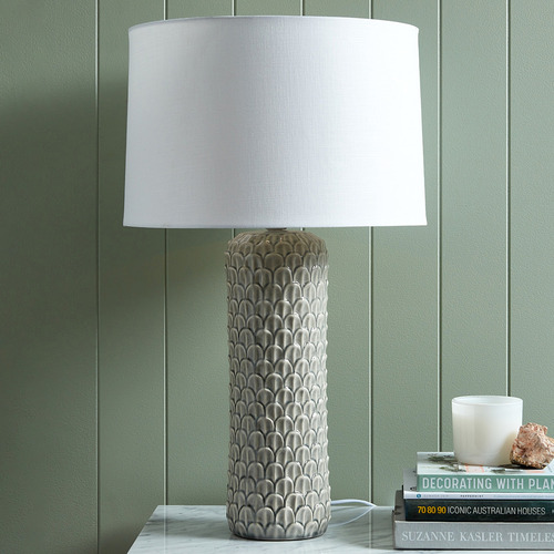 Temple & Webster Scale Ceramic Table Lamp