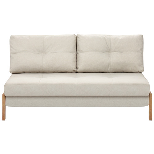 Temple & Webster Brad Upholstered Double Sofa Bed