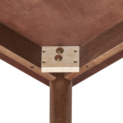 Oak Tuva 180cm Walnut Leg Dining Table