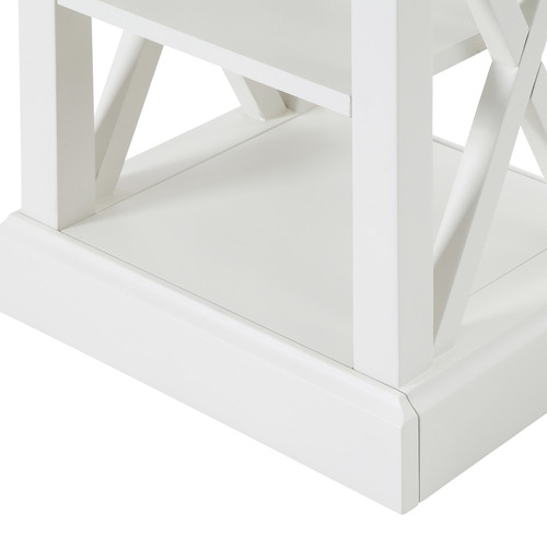 Temple & Webster White Hamptons Side Table