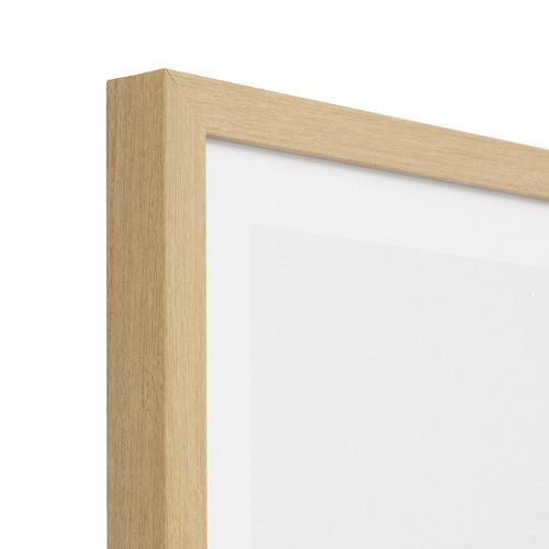 Alphabet Neutral Framed Printed Wall Art