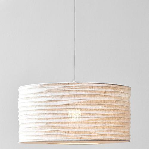 Temple & Webster Cleo Jute Pendant Light