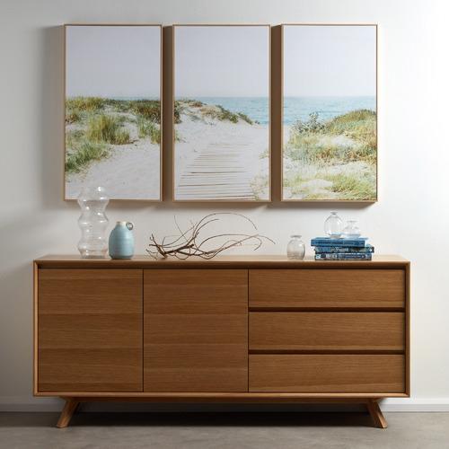 Secret Path Framed Canvas Wall Art Triptych