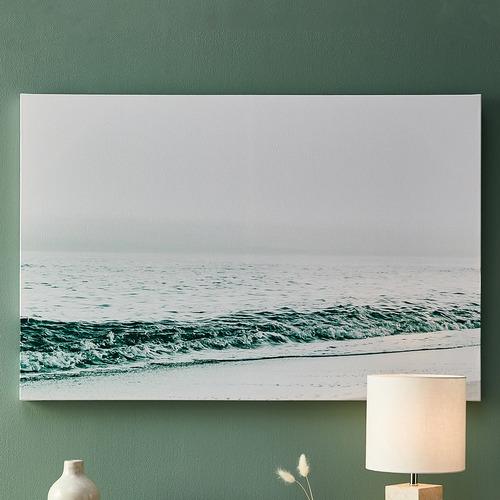 Blue Seascape Canvas Wall Art