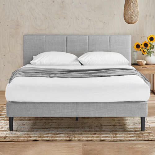 Imogen Upholstered Bed with USB