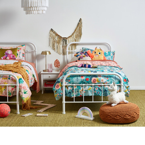Single Bailey Metal Kid's Bed Frame