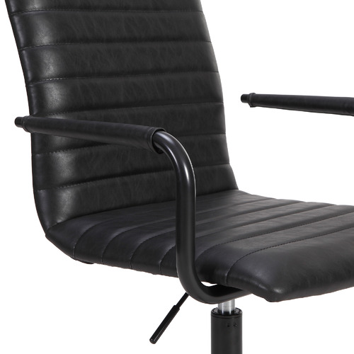 Vintage Mose Faux Leather Home Office Chair