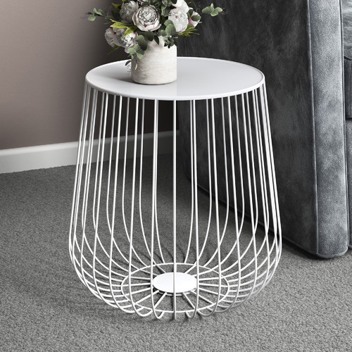 Trevi Wire Side Table