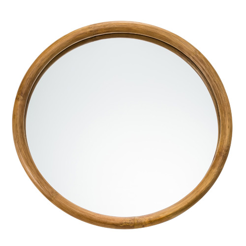 Arlo Round Rattan Wall Mirror