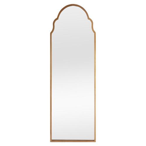Gold Amina Arch Long Mirror