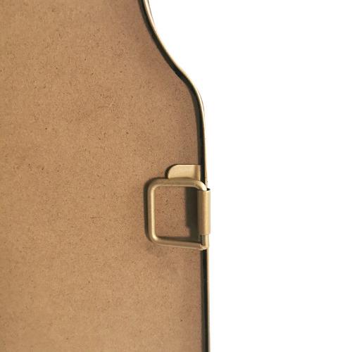 Gold Amina Arch Rectangular Mirror