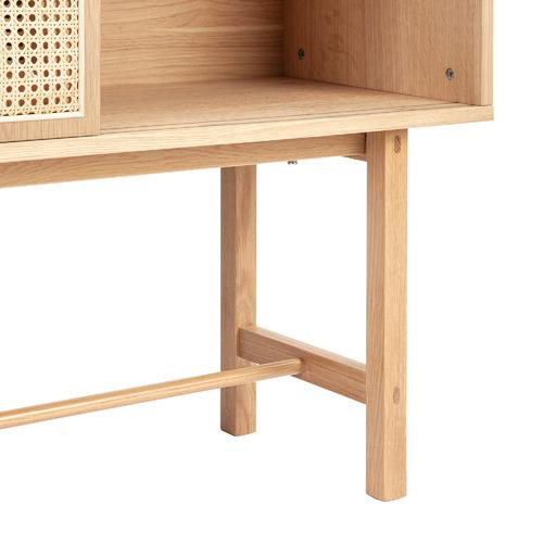 Inari Rattan Display Cabinet