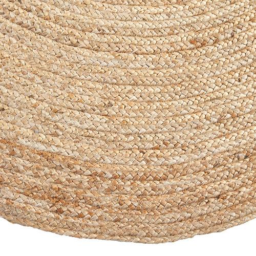 Natural Alba Hand-Woven Jute Round Rug
