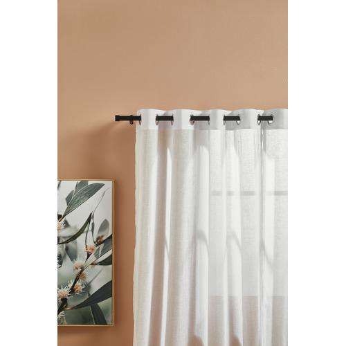 3 Piece Contempo Curtain Rod Set