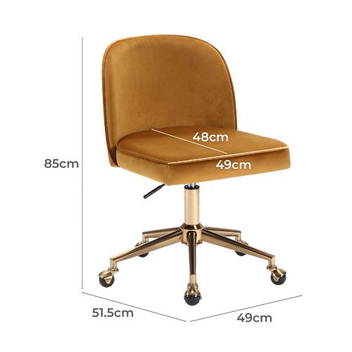 Juliet Velvet Home Office Chair