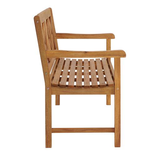 3 Seater Santa Cruz Acacia Wood Outdoor Bench