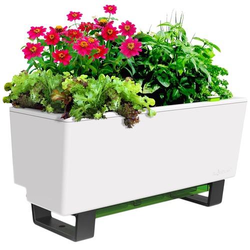 Glowpear Mini Self Watering Bench Planter