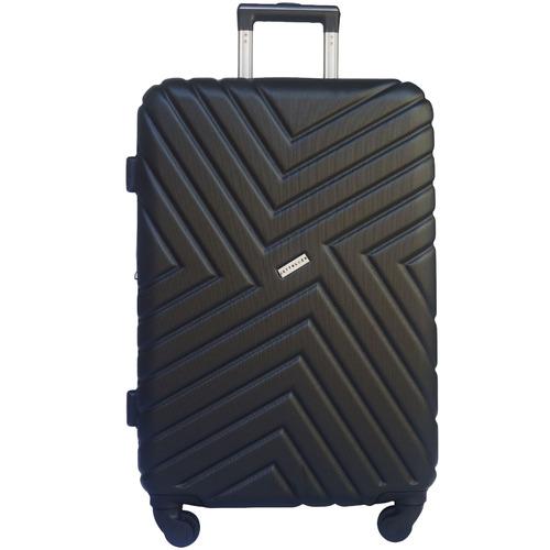 Jett Black 3 Piece Maze Series Hard Shell Luggage Set