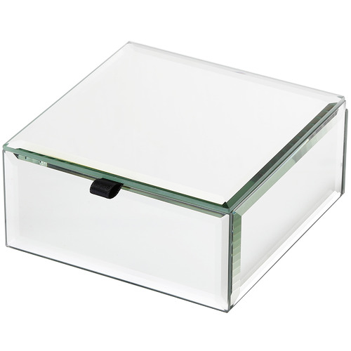 One Six Eight London Small Florence Glass Jewellery Box