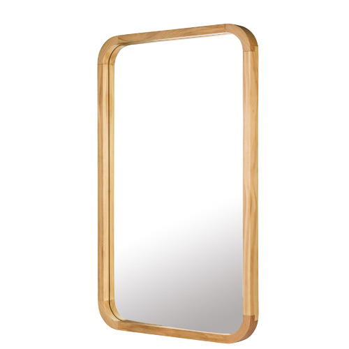 One Six Eight London Tina Wooden Wall Mirror