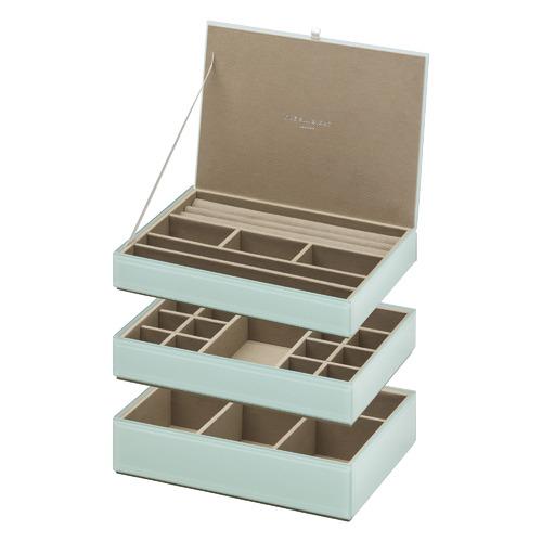 3 Piece Martina Stackable Jewellery Box Set