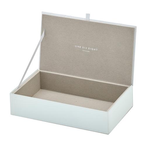Medium Geo Glass Jewellery Box