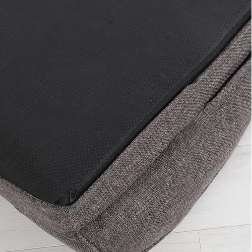 Charlies Pet Product Dark Grey Pet Bolster Sofa