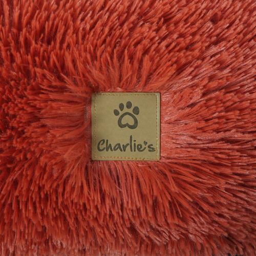 Charlies Pet Product Coco Faux Fur Fluff Nest Pet Bed