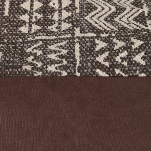 Tribal Printed Cotton Ottoman