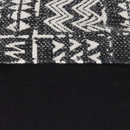 Collective Sol Tribal Printed Cotton Ottoman Cover