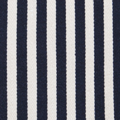Collective Sol Striped Hamptons Cotton Ottoman Cover