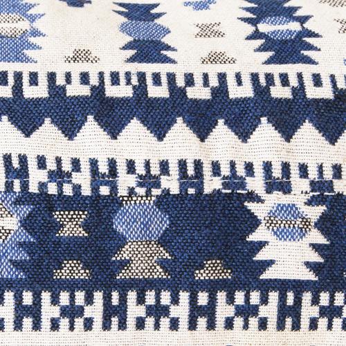 Collective Sol Amalfi Cotton Ottoman Cover